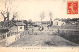 33 - GIRONDE / Facture - Passage à Niveau - Beau Cliché - France