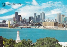 Canada Postcard Posted Montreal 1976 Olympic Games - Aviron Rowing (T15-25)
