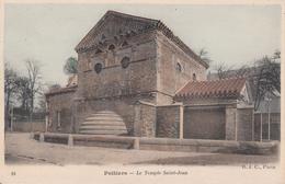 Cp , 86 , POITIERS , Le Temple Saint-Jean - Poitiers