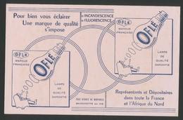 Buvard -  OFLE - Lampe De Qualite - Buvards, Protège-cahiers Illustrés