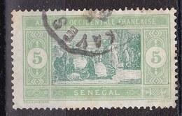 Senegal, 1914/1933 - 5c Senegalese Preparing Food - Nr.82 Usato° - Senegal (1960-...)