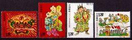 CHINA VOLKSREPUBLIK Mi. Nr. 4024-4027 X O (A-4-14)