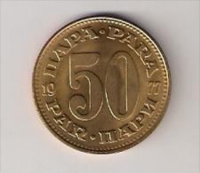 Yugoslavia 50 Para 1977. XF++/AUNC KM#46 - Joegoslavië