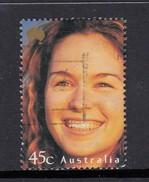 Australia 2000 Faces Of Austtralia - Smiling Girl Used