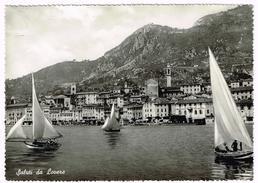 Y3010 Saluti Da Lovere (Bergamo) - Lago D'Iseo - Panorama - Barche Boats Bateaux / Non Viaggiata - Altre Città