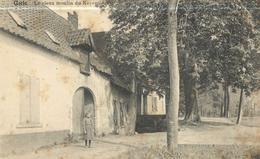 Oude Postkaart Uccle (env127)