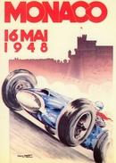 Grand Prix  De Monaco 1948  -   Illustrateur Géo Matt   -   Carte Postale - Grand Prix / F1