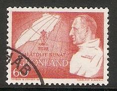 004105 Greenland 1969 Birthday 60o FU - Used Stamps