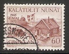 004106 Greenland 1970 Anniversary 60o FU - Greenland