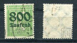 Deutsches Reich Michel-Nr. 302 Gestempelt - Geprüft - Germany