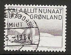 004114 Greenland 1984 Andreassen 3K70 FU - Groenland