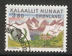 004118 Greenland 1985 Youth Year 3K80 FU - Groenlandia
