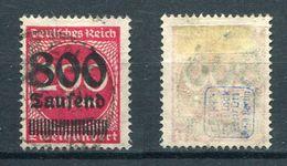 Deutsches Reich Michel-Nr. 303 Gestempelt - Geprüft - Germany