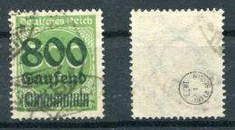 Deutsches Reich Michel-Nr. 304 Gestempelt - Geprüft - Germany