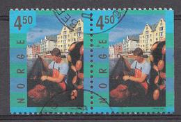 Norvège 1998 Mi.Nr: 1283-1283 Tourismus  Oblitèré / Used / Gebruikt - Usados