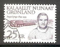 004124 Greenland 1990 Frederik Lynge 25K FU - Greenland
