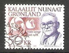 004127 Greenland 1991 Hans Lynge 50K FU - Greenland