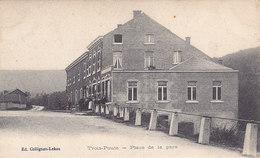 Trois-Ponts - Place De La Gare (animée, Ed. Collignon-Lekeu) - Trois-Ponts