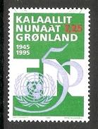 004133 Greenland 1995 United Nations 7K25 FU - Greenland