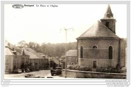 ROSSIGNOL ..-- TINTIGNY ..-- La Place Et L´ Eglise . 1974 Vers LUXEMBOURG ( Mme Berthe NININ ) . - Tintigny