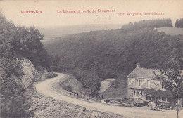 Villette-Bra - La Lienne Et Route De Stoumont (Edit Wayaffe, Animée, Au Bon Marché, 1908) - Lierneux