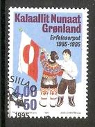 004134 Greenland 1995 Flag 4K + 50o FU - Greenland
