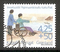 004137 Greenland 1996 Disabled 4K25 + 50o FU - Greenland