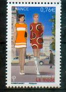 France 2015 - Années 60, Mode Française / The 60´s, French Fashion - MNH - Textil