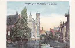 Brugge, Bruges, Quai Du Rosaire Et Le Beffroi (pk36081) - Brugge