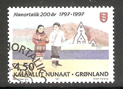 004142 Greenland 1997 Nanortalik 4K50 FU - Greenland