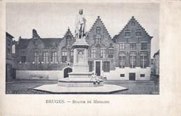 Brugge, Bruges, Statue De Memling (pk36084) - Brugge