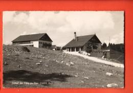EAA-08 Hotel Tête-de-Ran  Hauts-Geneveys. Cachet Les Loges 1951 - NE Neuenburg