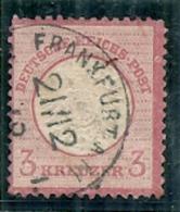 Allemagne - Empire REICH - N 22 - Côte 6€ - Oblitérés