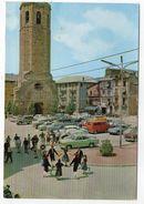Espagne--PUIGCERDA--1977--Plaza Mayor (animée,voitures Dont Citroen DS) Cpsm 15 X 10 N° 1163 éd Campana - Gerona