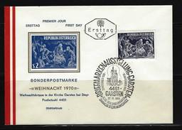 ÖSTERREICH - FDC Mi-Nr. 1349 Weihnachten Stempel GARSTEN (14) - FDC