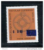 Haiti Space Copernicus 1973 Surcharged   Set Of 1 MNH**VF