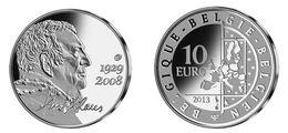 BE74 BELGIQUE 10 € EURO 2013 Hugo Claus - ARGENT - Belgique