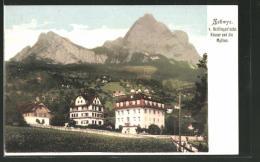 CPA Schwyz, V. Hettlingen'sche Häuser Et Mythen - SZ Schwyz