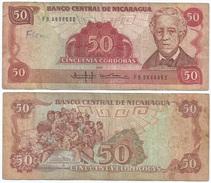 Nicaragua 50 Còrdobas 1985 Pick 153 Ref 308 - Nicaragua