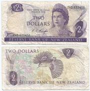 Nueva Zelanda - New Zealand 2 Dollars 1975-77 Pick 164.c Ref 316 - Nueva Zelandía