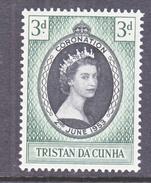 TRISTAN DA CUNHA  13    *  Q.E. II  CORONATION  1953 - Tristan Da Cunha