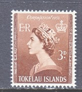 TOKELAU  4    *  Q.E. II  CORONATION  1953 - Tokelau