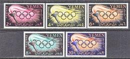 YEMEN  98-102  **  OLYMPICS  ROME  1960