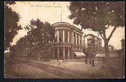 NICE -Le Crédit Lyonnais - Partie Av. Maréchal Foch  - Recto Verso -Paypal Sans Frais - Monuments