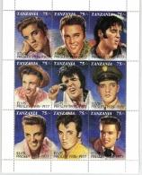 Tanzania - Elvis Presley Block (610414)