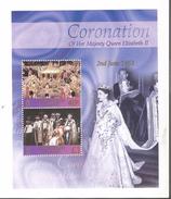2003 Ascension QEII Coronation Anniversary Souvenir  Sheets Of 2 MNH - Ascension (Ile De L')