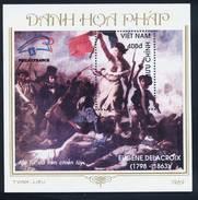 Vietnam Viet Nam MNH Perf Souvenir Sheet 1989 : World Philatelic Exhibition / Art Painting (Ms574B) - Vietnam