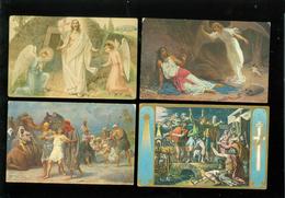 Beau Lot De 60 Cartes Postales Fantaisie Religion  Foi      Mooi Lot Van 60 Postkaarten Godsdienst  Geloof - 60 Scans - 5 - 99 Cartes