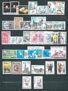 Belgique N°1855 A 1891 Complet  Timbres De 1977/78  Neufs ** Sans Charnières - Bélgica