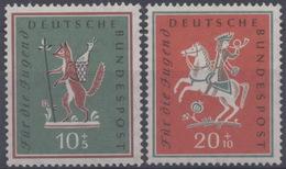 Allemagne : N° 157 Xx Et 158 X Année 1958